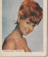 [Trademarks] - Mini Advertising Card - 1950/60: Lion-Melba Artist Card  No.14 - Françoise Deldick * - Publicités