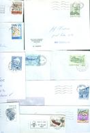 Faroe Islands. 10 Commercial Different Covers 1980es. Postal Used. - Faroe Islands