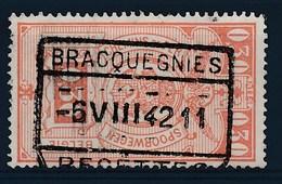 "TR 238 - ""BRACQUEGNIES - RECETTES"" - (ref. 26.755) - Railway"