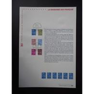 Document Officiel La Poste - La Marianne Des Français - Documents Of Postal Services