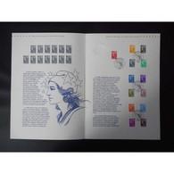 Document Officiel La Poste - Marianne Et L'Europe - Documents Of Postal Services