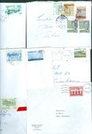 Faroe Islands. 15 Commercial Different Covers 1980es. Postal Used. - Faroe Islands