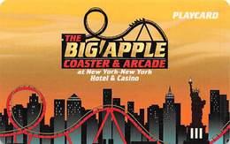 New York New York Casino Las Vegas - Arcade Playcard - Casino Cards
