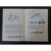 Document Officiel La Poste - Championnats Du Monde D'aviron 2015 - Aiguebelette - Documents De La Poste