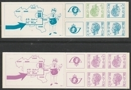 Boekjes 10/11 Elstrom ** - Postzegelboekjes 1953-....