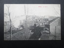 CP BELGIQUE (K02) ARLON (2 Vues) La Gare 1908 - Arlon