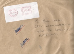 """Mauritius 1999 Port Louis Meter Neopost """"Electronic"""" R006 EMA Cover - Maurice (1968-...)"""