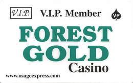Forest Gold Casino - Amite, LA - Slot Card - Casino Cards