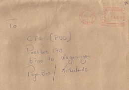 """Mauritius 2004 Beau Bassin Meter Pitney Bowes-GB """"Paragon"""" PT0016 EMA Cover - Maurice (1968-...)"""