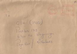 "Mauritius 2004 Beau Bassin Meter Pitney Bowes-GB ""Paragon"" PT0016 EMA Cover - Mauritius (1968-...)"