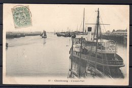 CPA 50 - CHERBOURG  (CH 405 C ) Port - Transbordeurs -Le Lloyd - Cherbourg