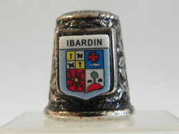 "Dé En Acier ""Ibardin"" - Ditali Da Cucito"