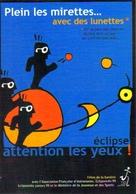 """Carte Postale """"Cart'Com"""" (1999) - éclipse - Attention Les Yeux ! - Plein Les Mirettes... Avec Des Lunettes - Astronomie"""