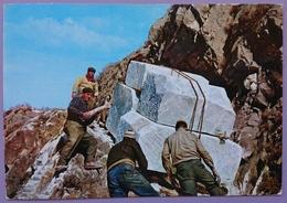 CARRARA - LA LIZZATURA / Transport Du Marbre, Transportation Of The Marble - Marmo  Nv - Carrara