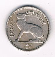3 PENNY 1962 IERLAND /2302/ - Irlande