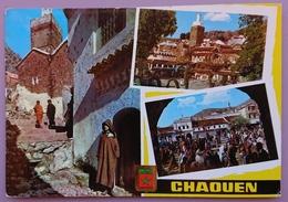 CHAOUEN, Maroc - Mezquita De Aouzar - Plaza Del Makzen  Vg - Marocco