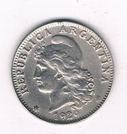 20 CENTAVOS  1929 ARGENTINIE /2304/ - Argentine