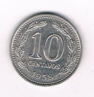 10 CENTAVOS  1958  ARGENTINIE /2305/ - Argentine