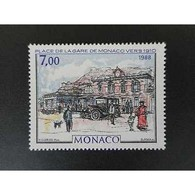 Timbre N° 1644 Neuf ** - La Gare De Monaco - Monaco