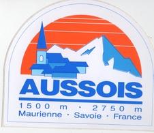 Autocollant Aussois Maurienne - Stickers