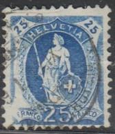 Schweiz, 1905, 95A  2.49II, Stehende Helvetia, Vollstempel, Siehe Scan! - Used Stamps