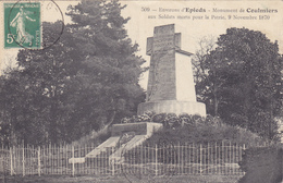 CPA 45 @ COULMIERS Près EPIEDS - Monument Aux Morts Du 9 Novembre 1870 Soldats Morts Pour La Patrie @ Edition N° 509 - Coulmiers