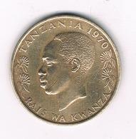 20 SENTI 1970 TANZANIA /2311/ - Tanzanie