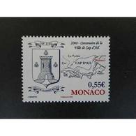 Timbre N° 2629 Neuf ** - Centenaire De La Ville De Cap D'Ail - Mónaco