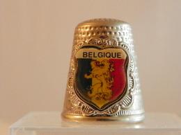 """Dé En Métal """"Belgique"""" - Dés à Coudre"""