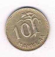 10 MARKKAA 1952 FINLAND /2313/ - Finlande