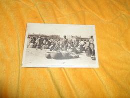 CARTE POSTALE ANCIENNE NON CIRCULEE DATE ?...../ TOMBOUCTOU.- LA PLACE DU MARCHE.. - Soudan