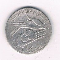 1/2  DINAR 1976 TUNESIE /2317/ - Tunisie