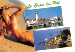 PIN-UPS // NU // NUDE // PIN-UP // 34 // GRAU DU ROI - AU BORD DE LA MEDITERRANEE - EDITIONS APA-POUX - Pin-Ups