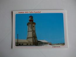 Postcard Postal Sesimbra Farol Do Cabo Espichel - Setúbal
