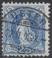Schweiz, …4.1904, .. Seux, 73E, Stehende Helvetia, Eckstempel, Siehe Scan! - Used Stamps