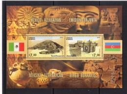 1.- MEXICO 2010 JOINT ISSUE MEXICO - AZERBAIYAN - México