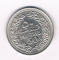 50 PIASTRES 1970 LIBANON /2318/ - Liban