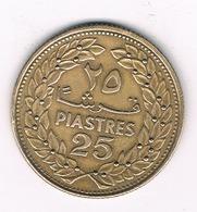 25  PIASTRES 1970 LIBANON /2319/ - Liban