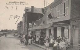 Saint Valery Sur Somme Restaurant Chivot Bellegueule Belle Animation - Saint Valery Sur Somme