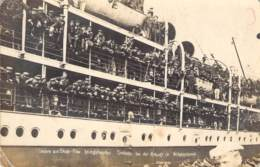 Heimkehr Unserer Seeleute Aus Skapa-Flow Ankunft In Wilhelmshafen - Guerra