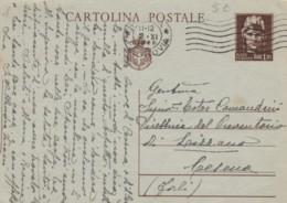 INTERO POSTALE VIAGGIATO 1946 CENT 1,2 TIMBRO ROMA (EX110 - 6. 1946-.. Repubblica