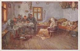 AK Einquartierung - Patriotika - Künstlerkarte K. L. Strauch - 1. WK (40144) - Guerre 1914-18