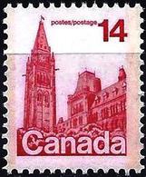 Canada 1978 - Mi 683A - YT 657 ( The Parliament, Ottawa ) MNH** - 1952-.... Règne D'Elizabeth II