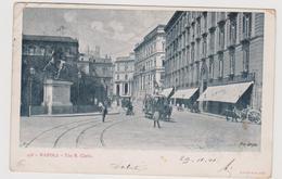 NAPOLI, 2 Cartoline, Ediz. RICHTER N°456 E 452  - F.p. - Fine '1800 - Napoli