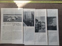 ENV 1900 NOTRE CONCOURS DE PHOTOGRAPHIE APRES L EXPOSITION GRANDJEAN LAGUARDE FRECHON MABIRE ROGEAT SOLLET GROS DEVAUD - Vieux Papiers