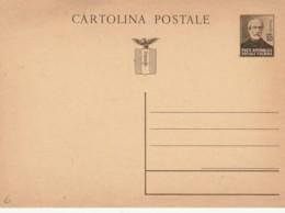 INTERO POSTALE MAZZINI RSI NUOVO (EX105 - 4. 1944-45 Repubblica Sociale