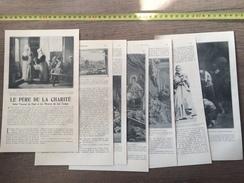 ENV 1900 PERE DE LA CHARITE SAINT VINCENT DE PAUL ET LES MISERES DE SON TEMPS - Vieux Papiers
