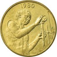 Monnaie, West African States, 25 Francs, 1980, Paris, TTB, Aluminum-Bronze, KM:9 - Côte-d'Ivoire