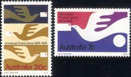 AUSTRALIA, 1974, UPU Centenary 2v   MNH - U.P.U.