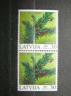 Protected Plants Of Latvia # Latvia Lettland Lettonie # 2003 MNH # Mi. 588DoDu - Lettonie